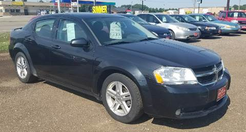 2009 Dodge Avenger for sale at BARNES AUTO SALES in Mandan ND