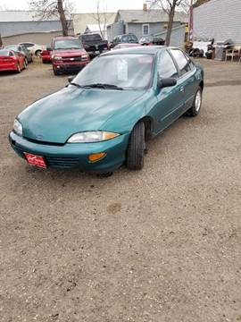 1999 Chevrolet Cavalier for sale at BARNES AUTO SALES in Mandan ND