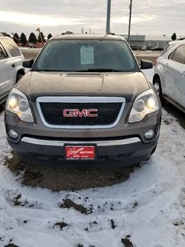 2009 GMC Acadia for sale at BARNES AUTO SALES in Mandan ND