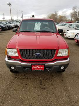 2001 Ford Ranger for sale at BARNES AUTO SALES in Mandan ND
