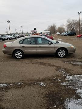 2003 Ford Taurus for sale at BARNES AUTO SALES in Mandan ND