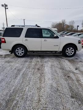 2008 Ford Expedition for sale at BARNES AUTO SALES in Mandan ND