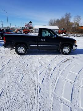 2002 GMC Sierra 1500 for sale at BARNES AUTO SALES in Mandan ND