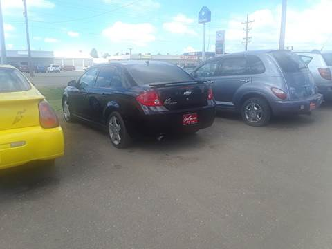 2008 Chevrolet Cobalt for sale at BARNES AUTO SALES in Mandan ND