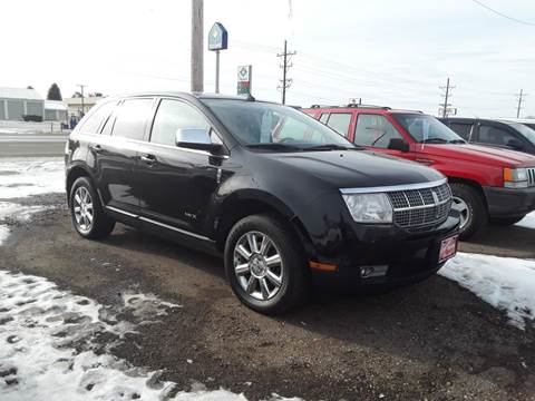 2008 Lincoln MKX for sale at BARNES AUTO SALES in Mandan ND