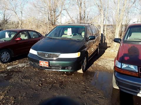 2001 Honda Odyssey for sale at BARNES AUTO SALES in Mandan ND