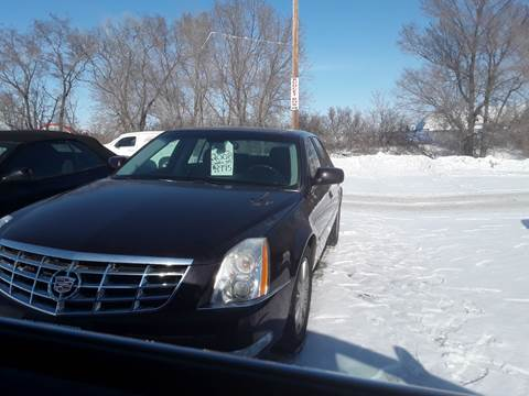 2008 Cadillac DTS for sale at BARNES AUTO SALES in Mandan ND