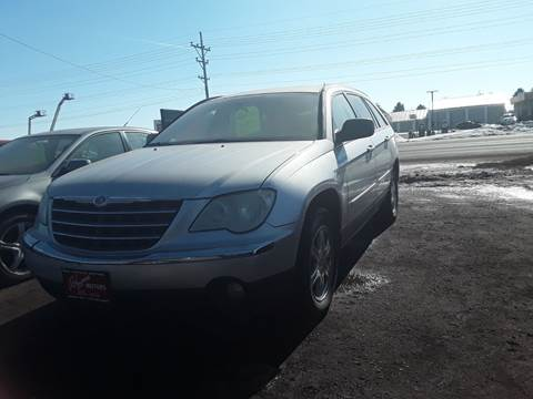 2008 Chrysler Pacifica for sale at BARNES AUTO SALES in Mandan ND