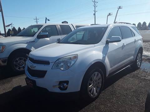 2010 Chevrolet Equinox for sale at BARNES AUTO SALES in Mandan ND