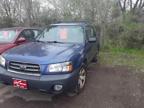 2003 Subaru Forester for sale at BARNES AUTO SALES in Mandan ND
