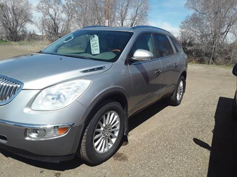 2008 Buick Enclave for sale at BARNES AUTO SALES in Mandan ND