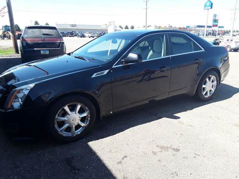 2008 Cadillac CTS for sale at BARNES AUTO SALES in Mandan ND