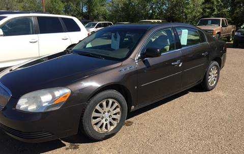 2008 Buick Lucerne for sale at BARNES AUTO SALES in Mandan ND
