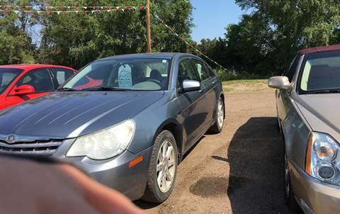2007 Chrysler Sebring for sale at BARNES AUTO SALES in Mandan ND