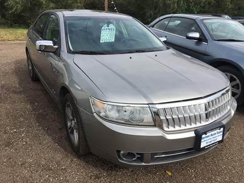 2008 Lincoln MKZ for sale at BARNES AUTO SALES in Mandan ND