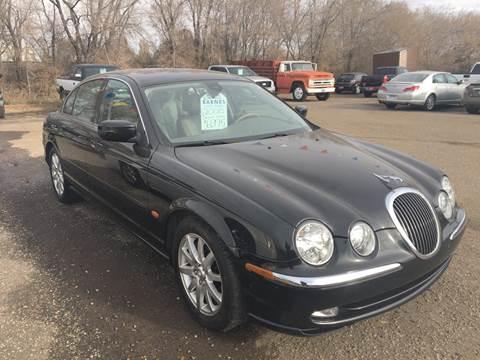 2000 Jaguar S-Type for sale at BARNES AUTO SALES in Mandan ND