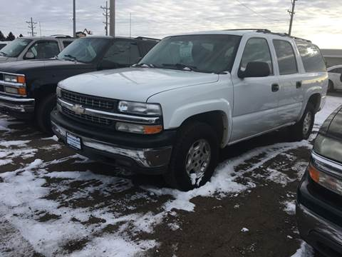 2006 Chevrolet Suburban for sale at BARNES AUTO SALES in Mandan ND