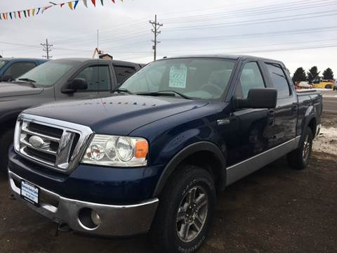 2007 Ford F-150 for sale at BARNES AUTO SALES in Mandan ND