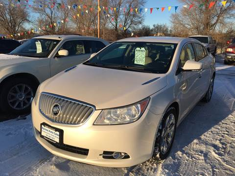2012 Buick LaCrosse for sale at BARNES AUTO SALES in Mandan ND