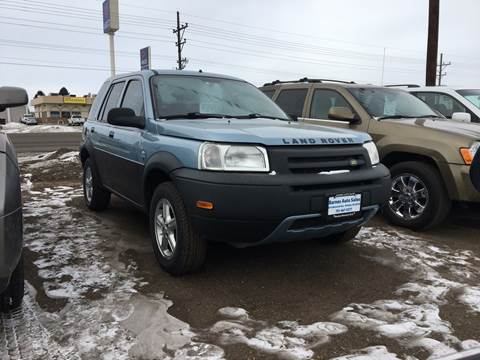 2002 Land Rover Freelander for sale at BARNES AUTO SALES in Mandan ND
