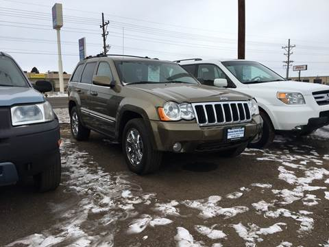 2008 Jeep Grand Cherokee for sale at BARNES AUTO SALES in Mandan ND