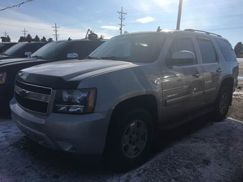 2008 Chevrolet Tahoe for sale at BARNES AUTO SALES in Mandan ND