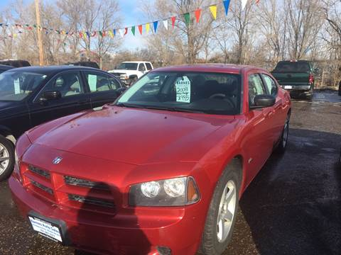 2008 Dodge Charger for sale at BARNES AUTO SALES in Mandan ND