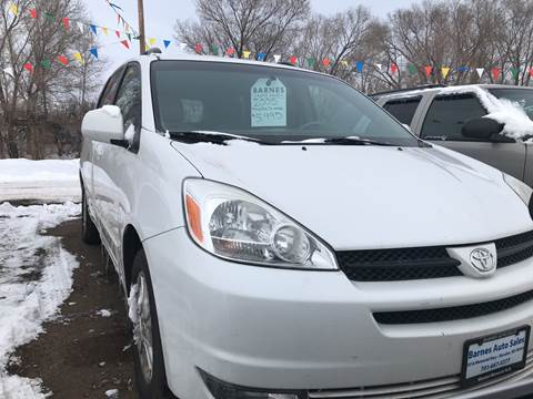 2005 Toyota Sienna for sale at BARNES AUTO SALES in Mandan ND
