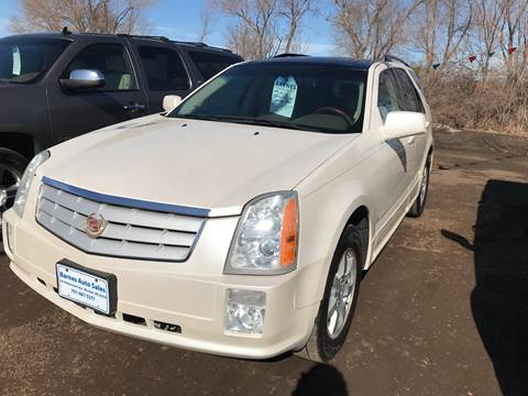 2006 Cadillac SRX for sale at BARNES AUTO SALES in Mandan ND