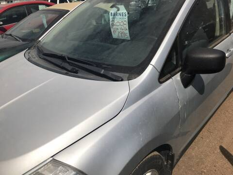 2008 Nissan Versa for sale at BARNES AUTO SALES in Mandan ND