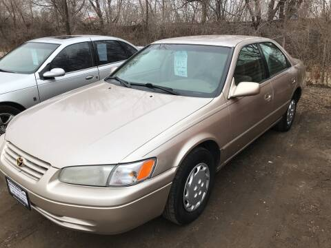 1997 Toyota Camry for sale at BARNES AUTO SALES in Mandan ND
