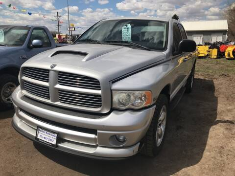 2004 Dodge Ram Pickup 1500 for sale at BARNES AUTO SALES in Mandan ND