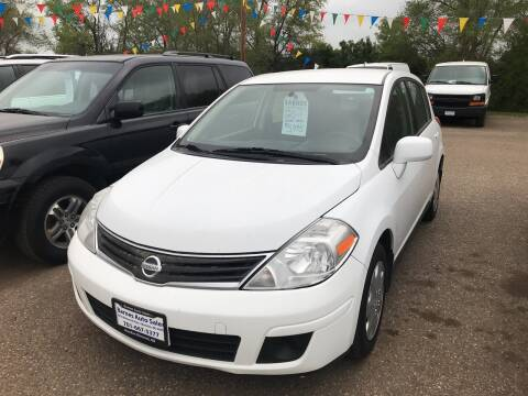 2011 Nissan Versa for sale at BARNES AUTO SALES in Mandan ND