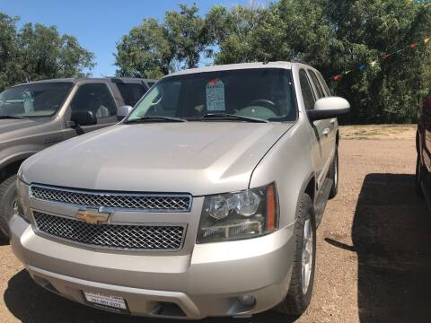 2007 Chevrolet Tahoe for sale at BARNES AUTO SALES in Mandan ND