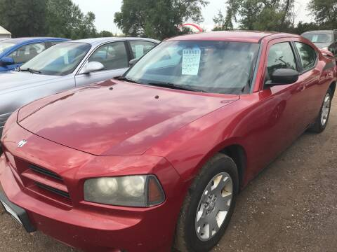 2007 Dodge Charger for sale at BARNES AUTO SALES in Mandan ND