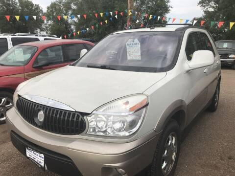 2004 Buick Rendezvous for sale at BARNES AUTO SALES in Mandan ND