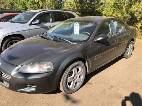 2001 Dodge Stratus for sale at BARNES AUTO SALES in Mandan ND