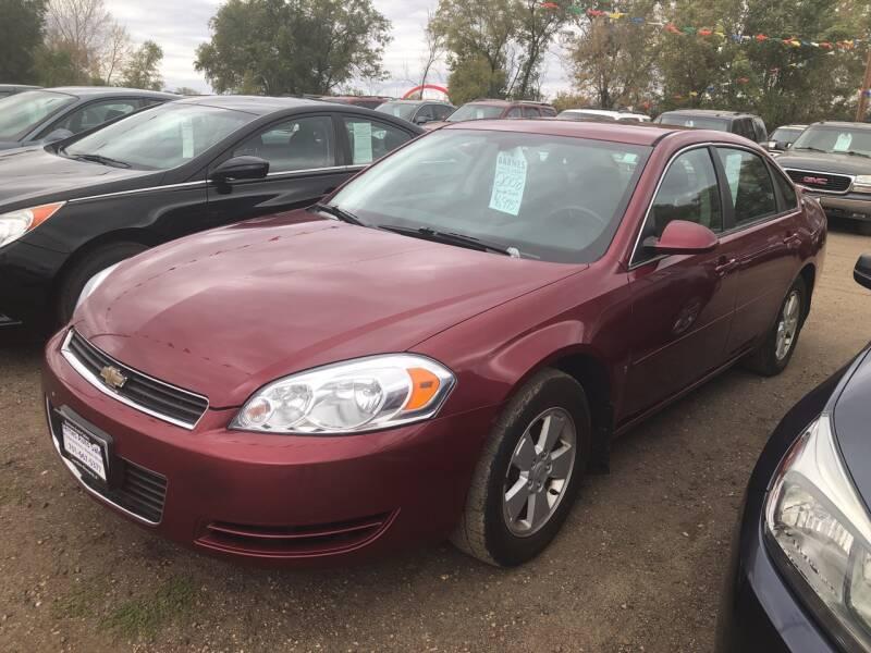 2008 Chevrolet Impala for sale at BARNES AUTO SALES in Mandan ND