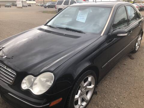 2007 Mercedes-Benz C-Class for sale at BARNES AUTO SALES in Mandan ND