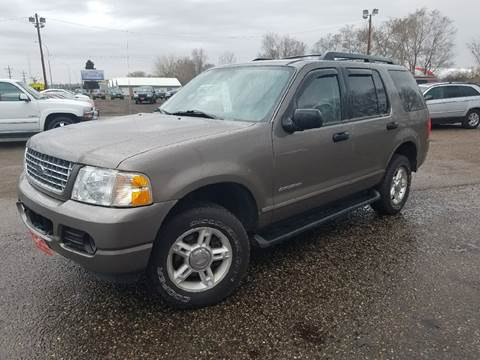 2005 Ford Explorer for sale at BARNES AUTO SALES in Mandan ND