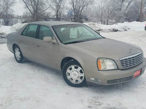 2003 Cadillac DeVille for sale at BARNES AUTO SALES in Mandan ND