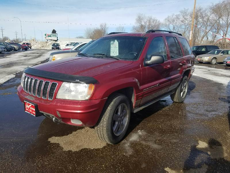 2002 jeep grand cherokee 4dr overland 4wd suv in mandan nd ron lowman motors. Black Bedroom Furniture Sets. Home Design Ideas