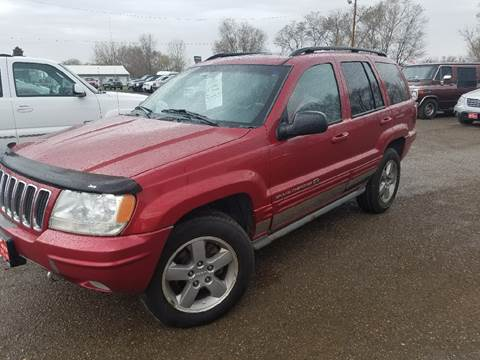 2002 Jeep Grand Cherokee for sale at BARNES AUTO SALES in Mandan ND