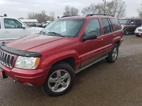 2002 Jeep Grand Cherokee for sale at BARNES AUTO SALES in Mandan ND