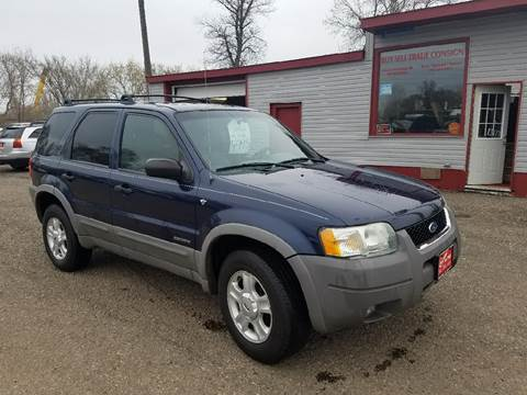 2002 Ford Escape for sale at BARNES AUTO SALES in Mandan ND