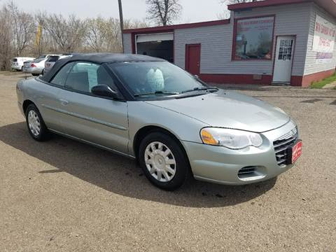 2004 Chrysler Sebring for sale at BARNES AUTO SALES in Mandan ND