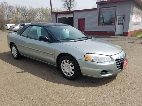 2004 Chrysler Sebring for sale at BARNES AUTO SALES in Mandan ND