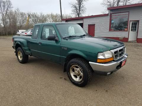 2000 Ford Ranger for sale at BARNES AUTO SALES in Mandan ND