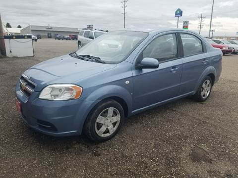 2007 Chevrolet Aveo for sale at BARNES AUTO SALES in Mandan ND