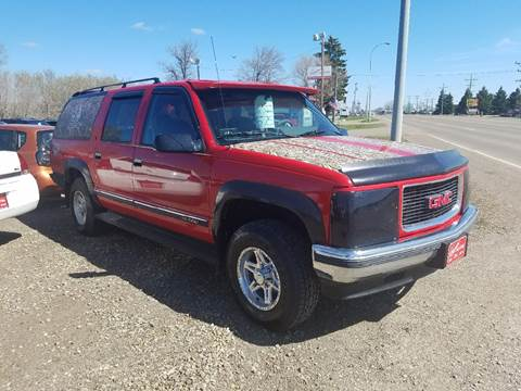 1992 Chevrolet Suburban for sale at BARNES AUTO SALES in Mandan ND